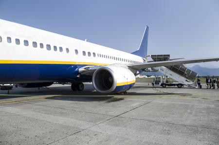 Flight boarding 版權商用圖片 - 85956569