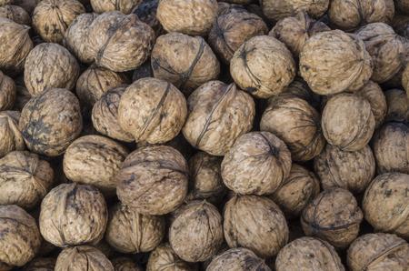 Walnuts shells 版權商用圖片