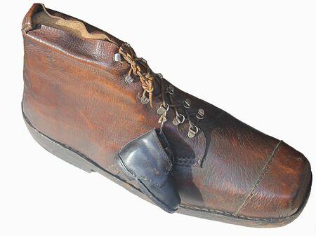 brogue: big and little shoe