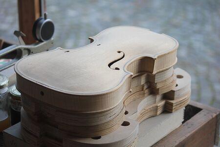 violins: a laboratory with violins