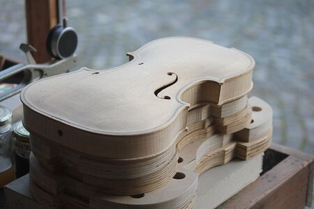 violines: un laboratorio con violines