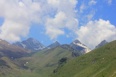 a mountain range in Piemonte in Italy
