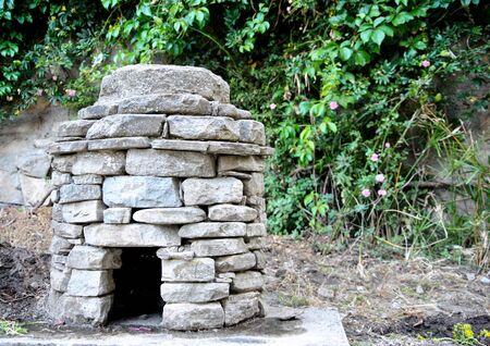 mound: the mound Stock Photo