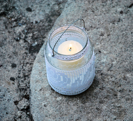ardor: Candle Embroidered