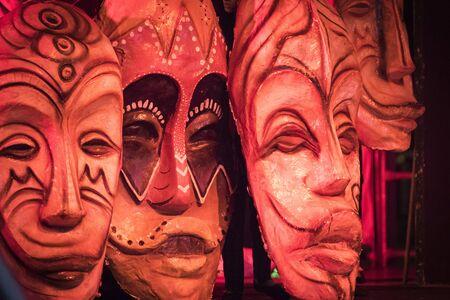 papiermache: The papier-mache masks