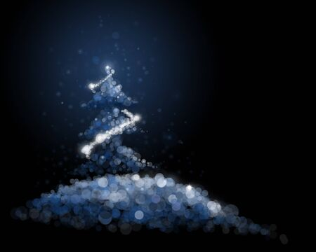 abstract illustration for christmas Stock Photo