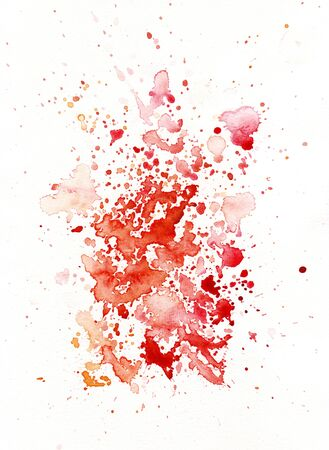 bleed: blood like watercolor decoration