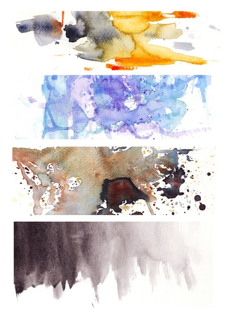 another mix of watercolor backgrounds photo