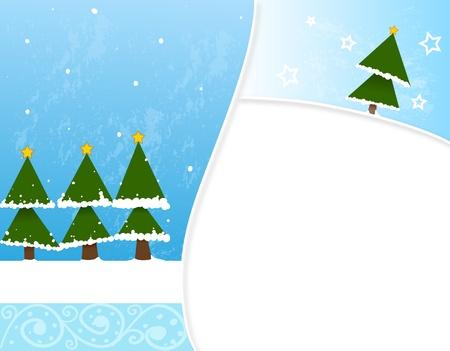 hollidays: illustration for winter hollidays Illustration