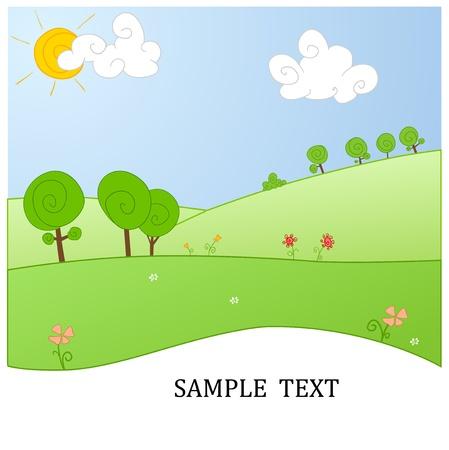 illustration of the nature Illustration