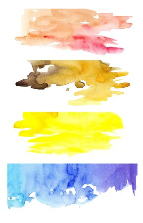 Colorful watercolor mix
