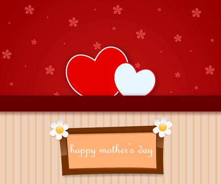 mother   s day: Madre s d�as 1 Vectores
