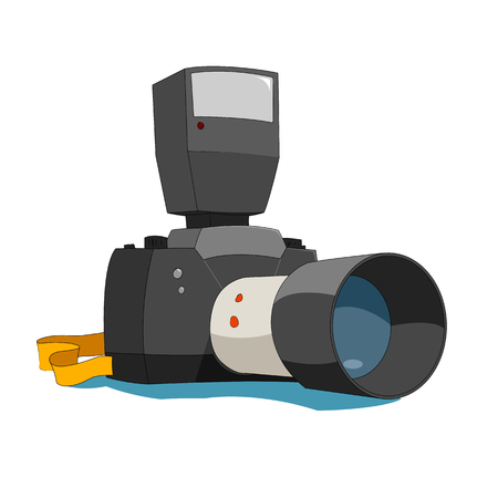 reflex: Camera Illustration