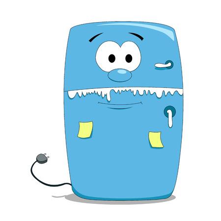 Cartoon koelkast