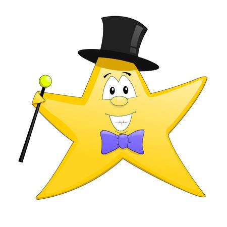 star mascot: Star mascot