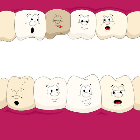 Dental characters