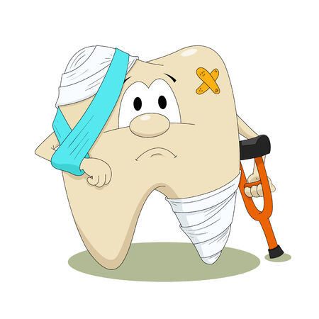 diseased: Diseased tooth