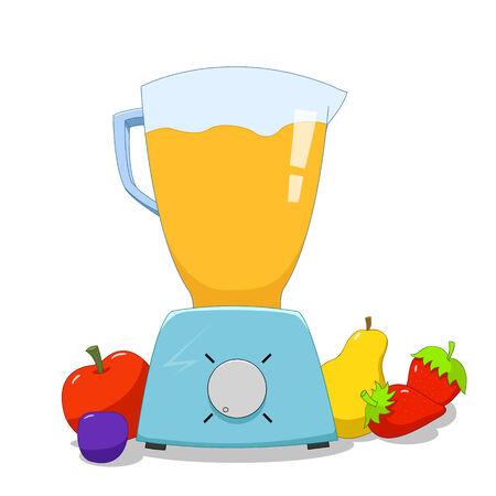 healty food: Colorful blender