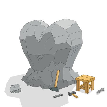 Heart sculpture