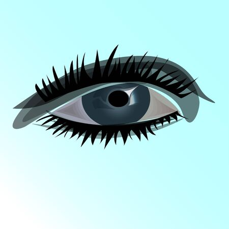 Women eye Ilustração