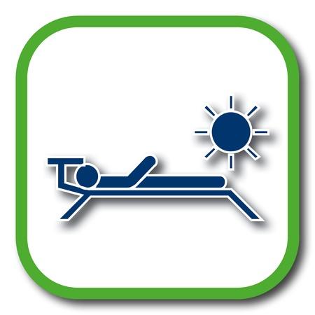 solarium: solarium icon