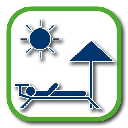 solarium: baech icon