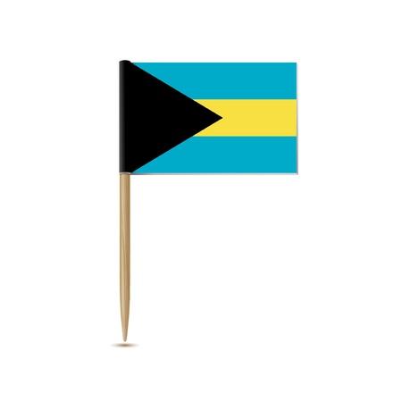 bahamas: bahamas flag Illustration