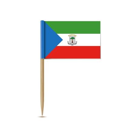 equatorial: equatorial guinea flag