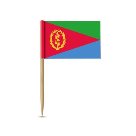 eritrea: eritrea flag Illustration
