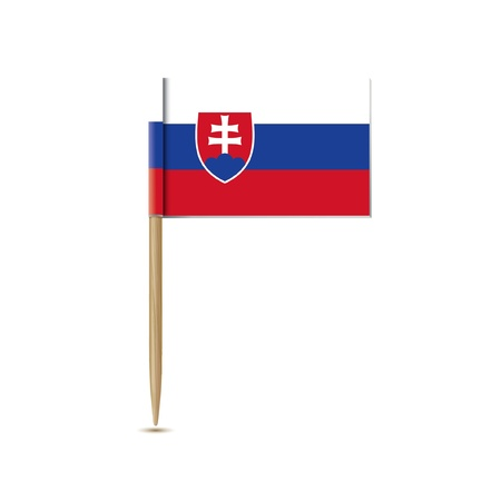slovak republic: slovak republic flag