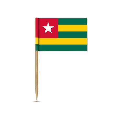 togo: togo flag