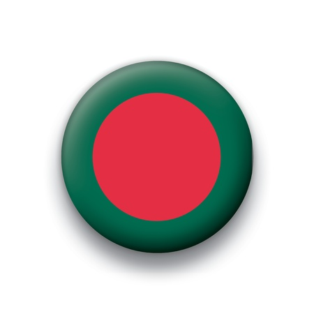 bangladesh: Flag button series Bangladesh