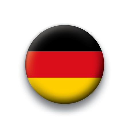 flag button: Flag button series Germany Illustration