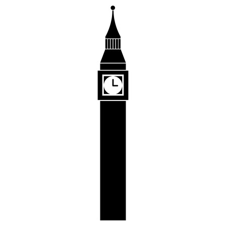 Vector illustration of Big Ben Tower of London Stock Vector - 27699043