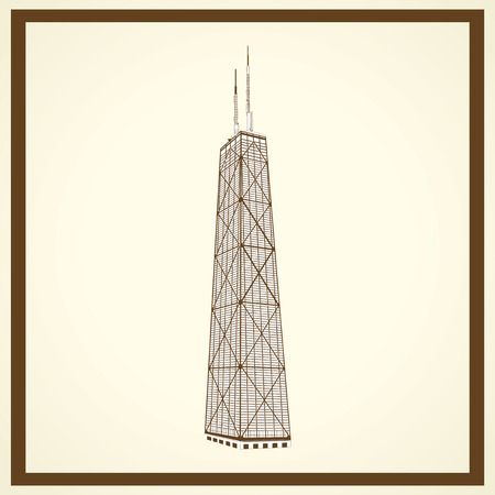 sears: sears tower postcard