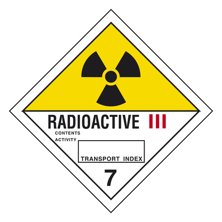 hazardous waste: Hazardous materials sign
