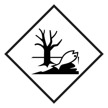 hazmat: Hazardous materials sign