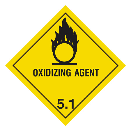 Hazardous materials sign
