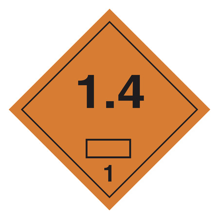 hazardous waste: Hazardous materials sign