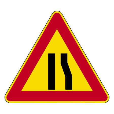 mother in law: Road sign set Illustration