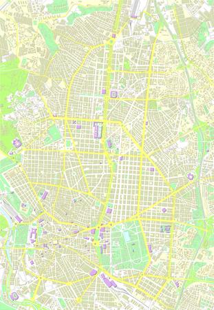 madrid: Madrid color map