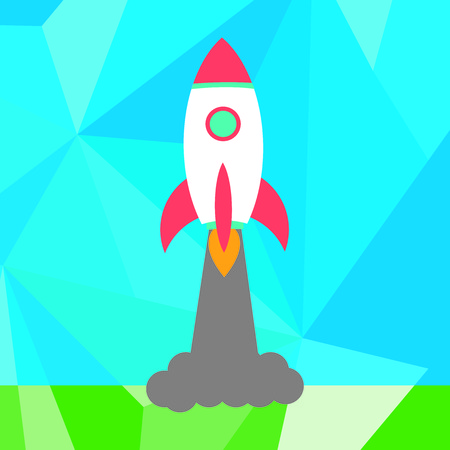 rocket launch: Lanzamiento de un cohete