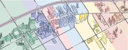 vegas strip: Las Vegas map