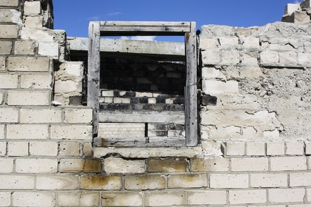 trough: window Stock Photo