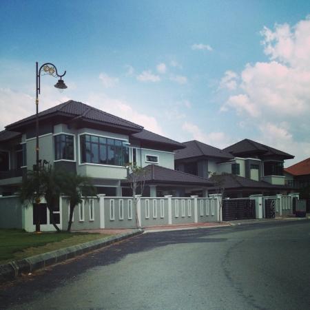 マレーシアの住宅地