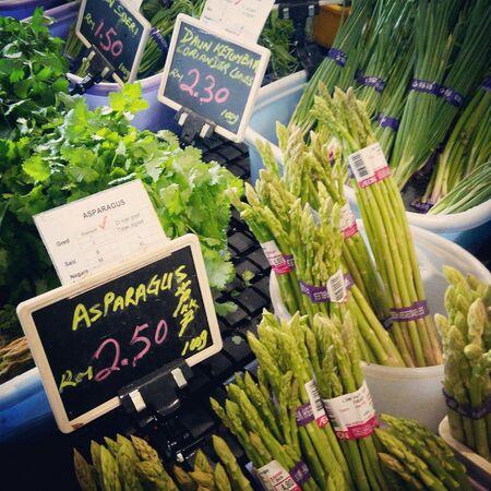 pricetag: A corner at the wet market