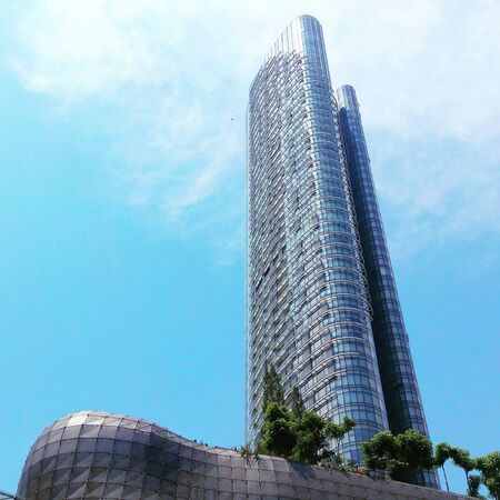 architecture: Architecture building at Orchard Road, Singapore