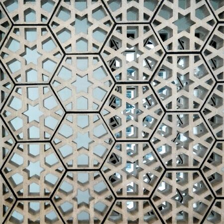 decoration: Islamic pattern interior decoration Stock Photo