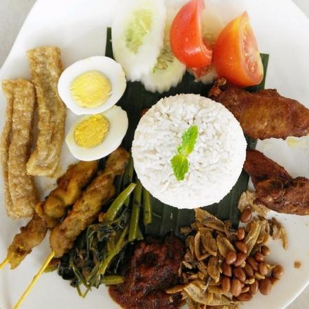 lemak: Malaysian food Nasi Lemak