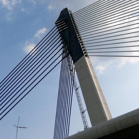 architecture: Modern architecture bridge at Putrajaya, Malaysia